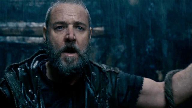 Russell Crowe as Noah in Darren Aranofsky's biblical epic